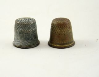 Romania Copper And Aluminum Thimbles 20 ' S photo