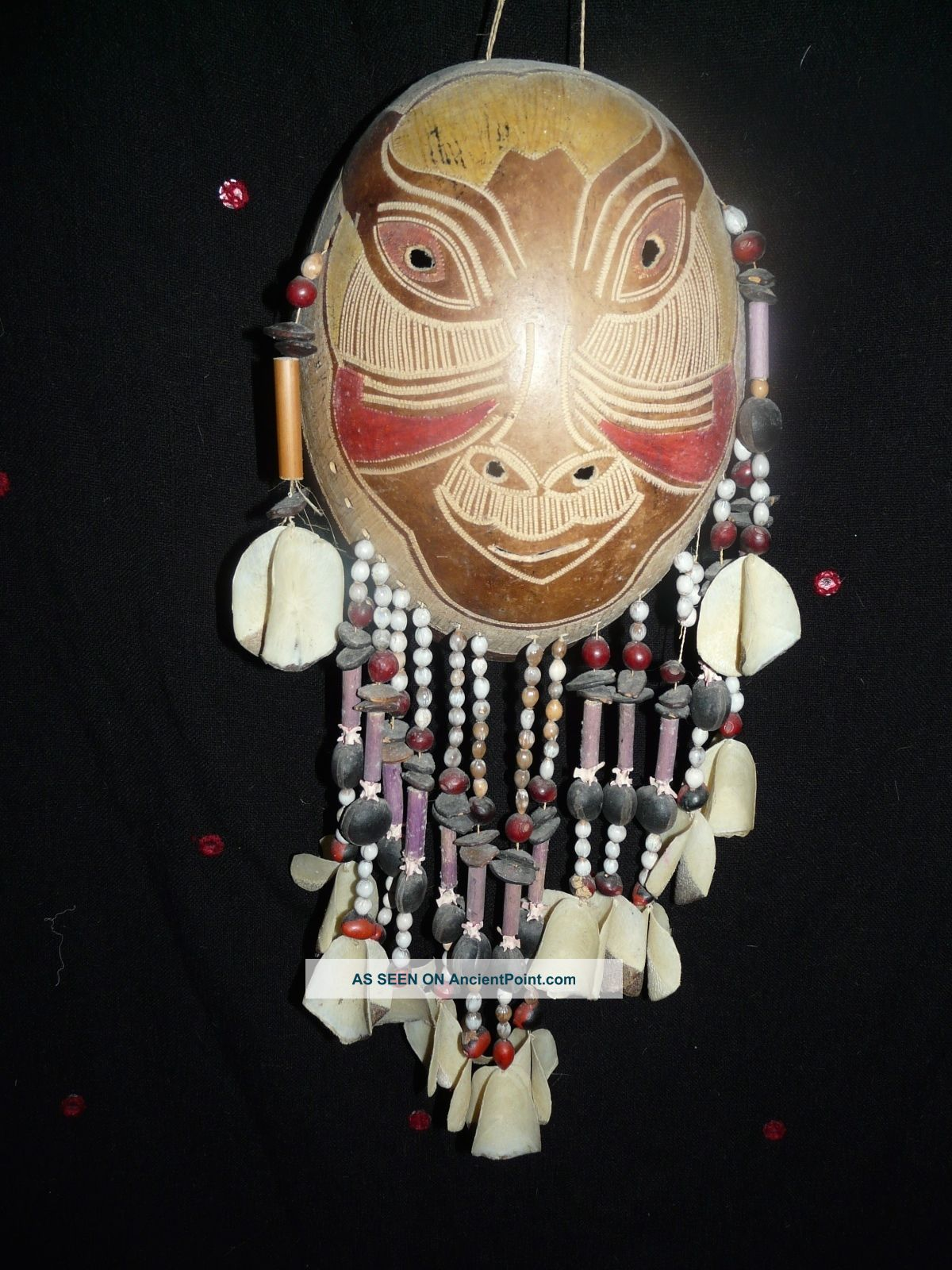 Bora Or Yagua Peru Amazon Indian Mask 2 Latin American photo
