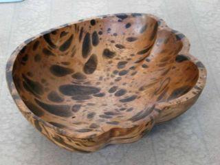 Artisan Handcrafted Natural Mango Wood Bowl Model No.  02 photo