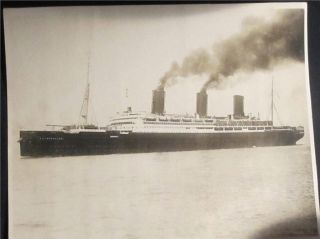 Big Ss Imperator Ship Photograph 1919 F Muller Jr Inc N.  Y. photo