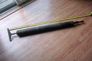 Antique Reeves Hand Pump Metal Vacuum Cleaner Pat 1907 photo