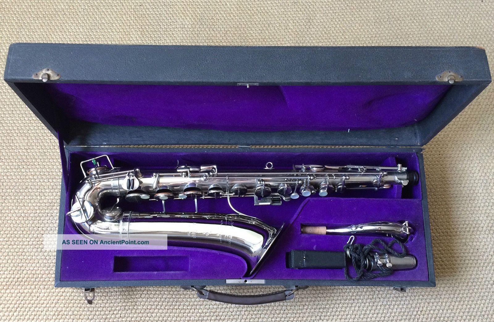 Selmer Paris Series 1922 No.  778 C - Melody Saxophone Nickel Finish Wind photo