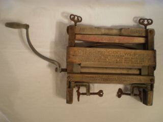 Antique Anchor Brand Lovell Mfg.  Co.  Hand Crank Clothes Wringer Erie Pa No.  791 photo
