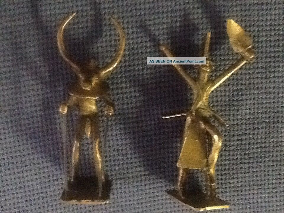Antique Bronze Native/ Tribal Figurines Sculptures & Statues photo