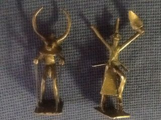 Antique Bronze Native/ Tribal Figurines photo