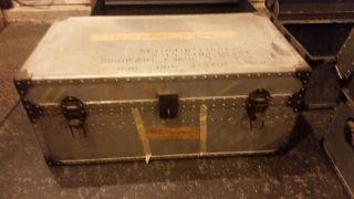 Vintage Aluminum Footlocker photo