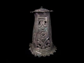 Antique Silver Orthodox Incense Burner Censer (lampada) photo