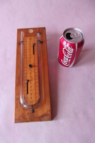Manometer,  Vintage {physics,  Chemistry} By Phillip Harris photo