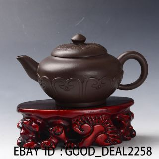 Old Antique Chinese Yixing Zisha Handmade Teapot N18 photo