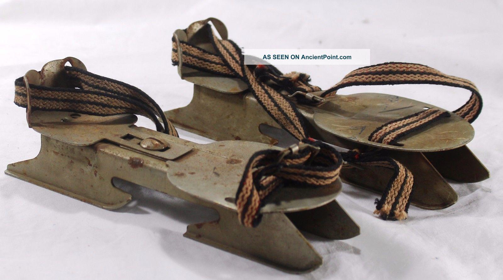 Antique Ice Skates Value Images