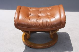 Ekornes Stressless Ottoman Stool Chair - Norway - Danish Modern photo