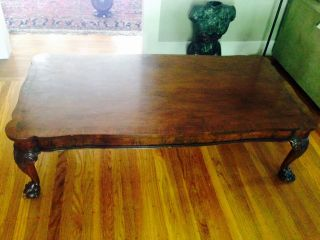 Gorgeous Baker Furniture Chippendale Coffee Table photo