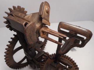 Antique / Vintage Cast Iron 76 R.  H Co Apple Peeler / Parer Last Patent Date 1872 photo