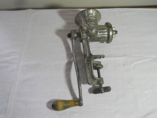 Antique Metal Keen Kutter Meat Grinder May 29 1896 Or 1906 Kk13 E.  C.  Simmons photo