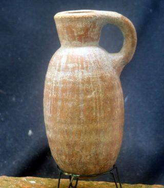 Quality And Terra Cotta Jug,  Phoenisian 700 - 500 Bc, photo