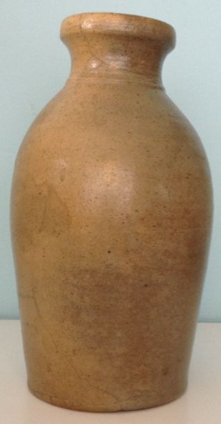 Vintage Stoneware Bottle - Jug - Urn - Vase photo