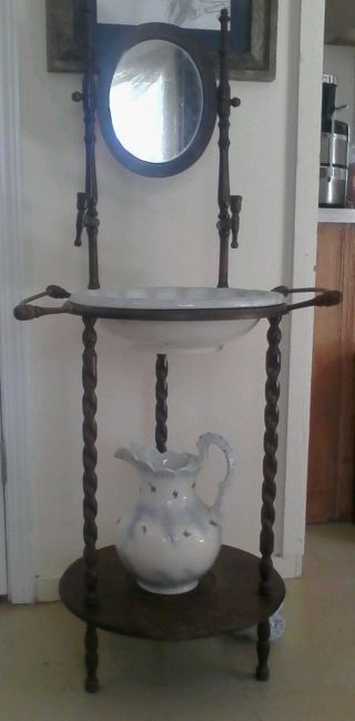 Antique Wash Stand photo