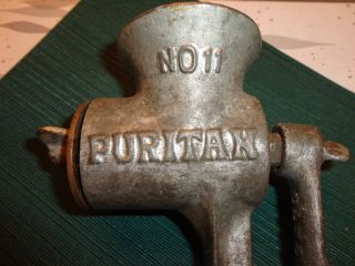 Vintage Puritan Meat Grinder Number 11 photo