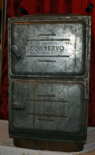 Vintage Swartzbaugh Conservo Steam Cooker & Canner - Copper Bottom Toledo,  Oh photo