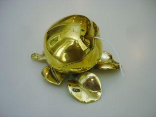 Antique English Brass String Box Holder photo