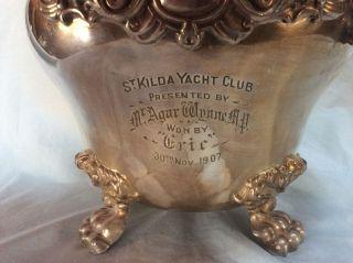 1907 St Kilda Yacht Club Trophy
