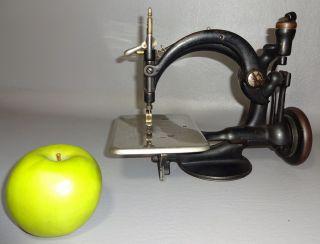 1871 Wilcox & Gibbs Sewing Machine No Base Wheel & Levers Work photo
