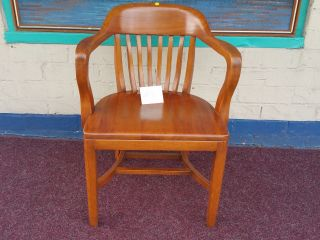 Boling Antique Office Lawyers Banker Chair 3 photo
