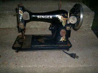 Vintage Or Antq 1919 Singer Sewing Machine / Machine Only photo