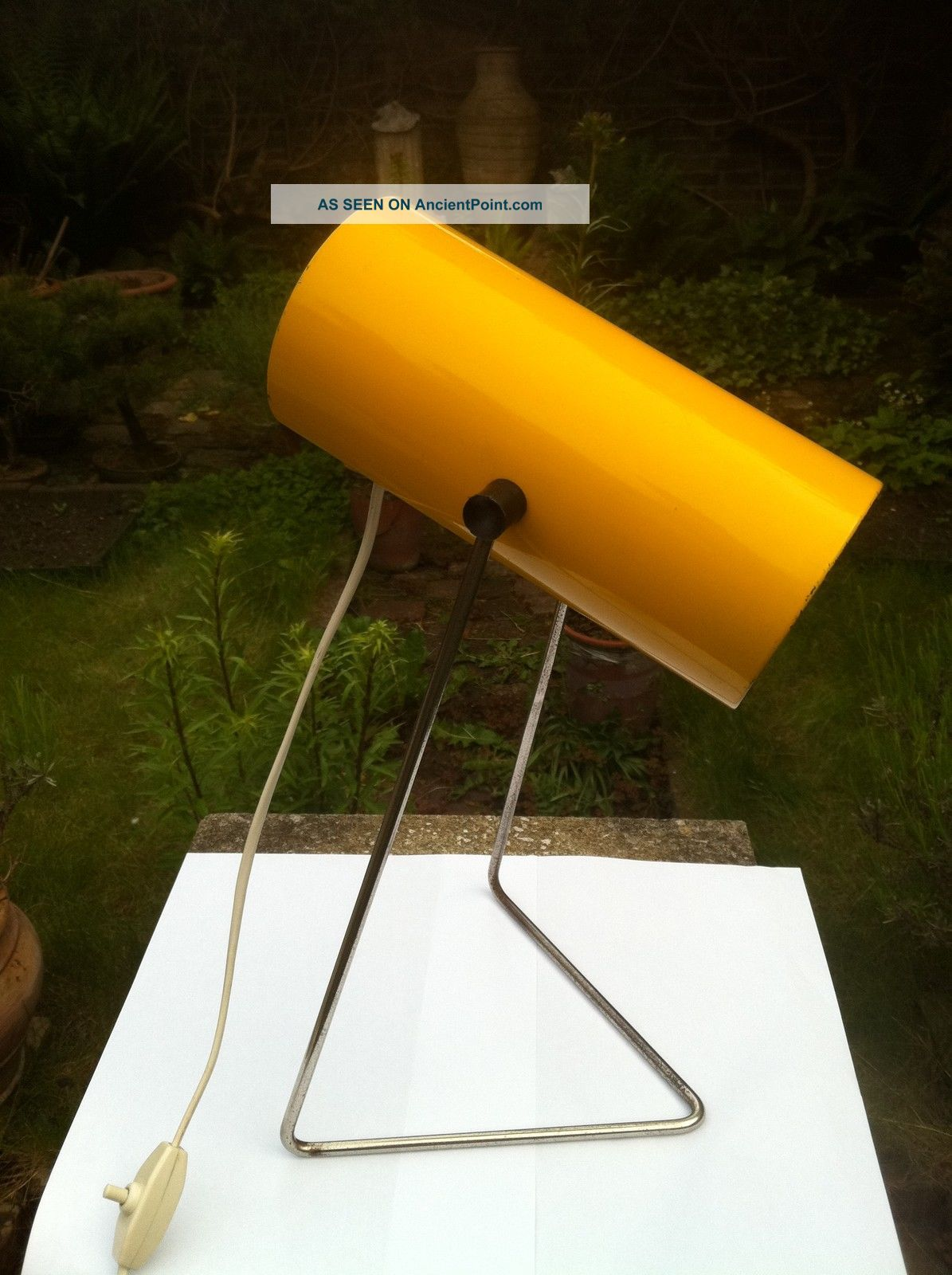 Rare Adjustable Lamp Light John Brown For Plus Lighting Robin Day Race Kalff Era 20th Century photo