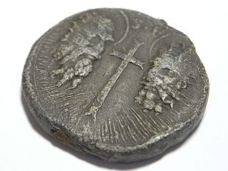 Papal Bulla Seal Of Pope Clement Xi.  1700 1721 Peter & Paul Heads (a717) photo