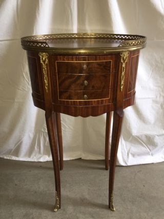 French Louis Xv Style Table photo