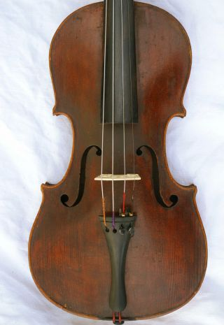 Antique Stradivarius Labeled Ready - To - Play Sound Sample photo