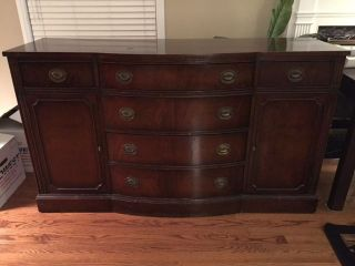 Bernhardt Furniture Mahogany Buffet photo