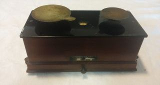 C.  1910 Antique Apothecary Pharmaceutical Balance Scale Torsion Balance Co.  275 photo