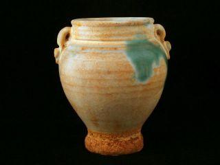 Fine Antique Chinese Tang White Porcelain Vase photo