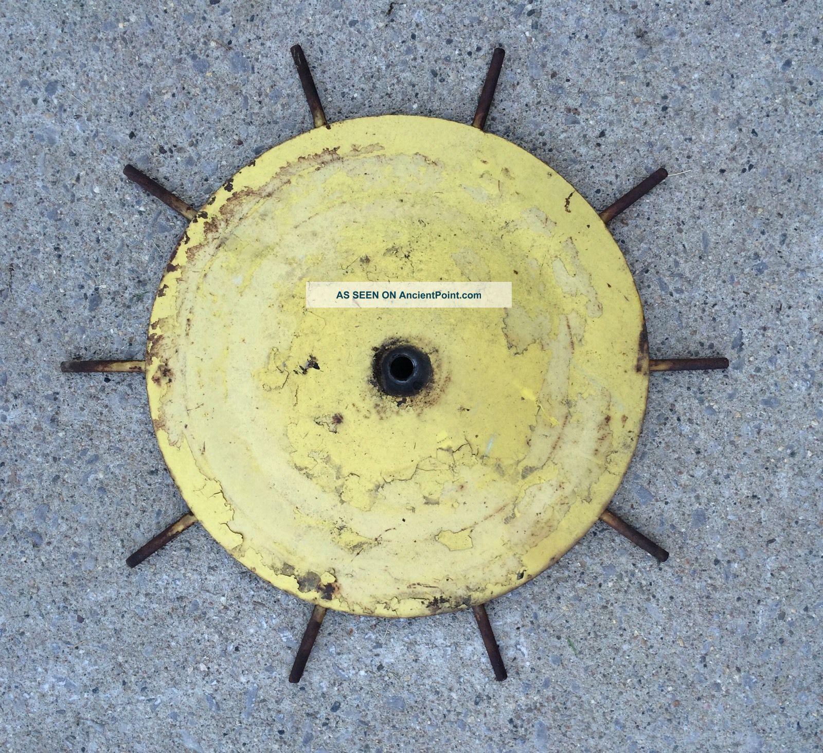 Vintage John Deere Cultivator Shield - 21 \