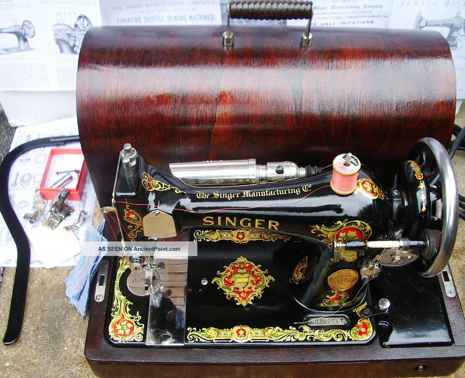 Singer Model 128 Vs - 3