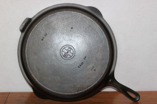 Vintage 1939 - 57 Griswold Small Logo 719d No.  12 Cast Iron Skillet W/ Heat Ring photo
