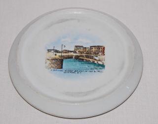 Lockport York Historic Porcelain Hot Plate Widest Bridge In World Erie Canal photo