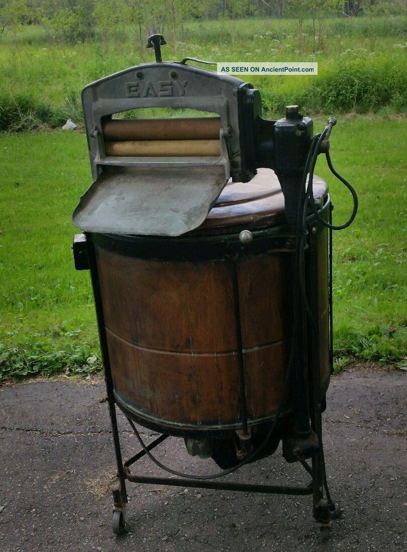 Fabulous Antique 1912 Easy Copper Washing Machine Model M 370107 Washing Machines photo