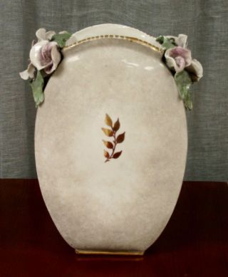 Antique Cordey Porcelain M.  B.  Cybis Old Ceramic Floral Vintage Vase Majolica photo