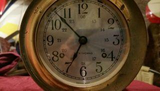 Seth Thomas Ship Clock photo
