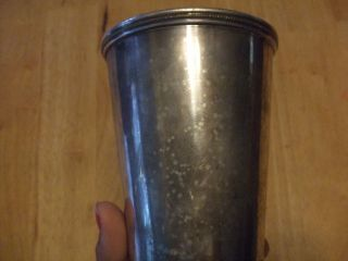 Vintage International Silver Company Julep Cup 425 photo