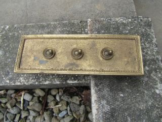 Vintage Brass Light Switch G.  E.  C Vitreous Antique Salvage Early 1920s Old Deco photo