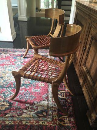 Kreiss Klismos Chairs (2) photo