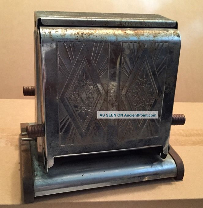 Antique Vintage Early 1900s Westinghouse Turnover Toaster Toasters photo
