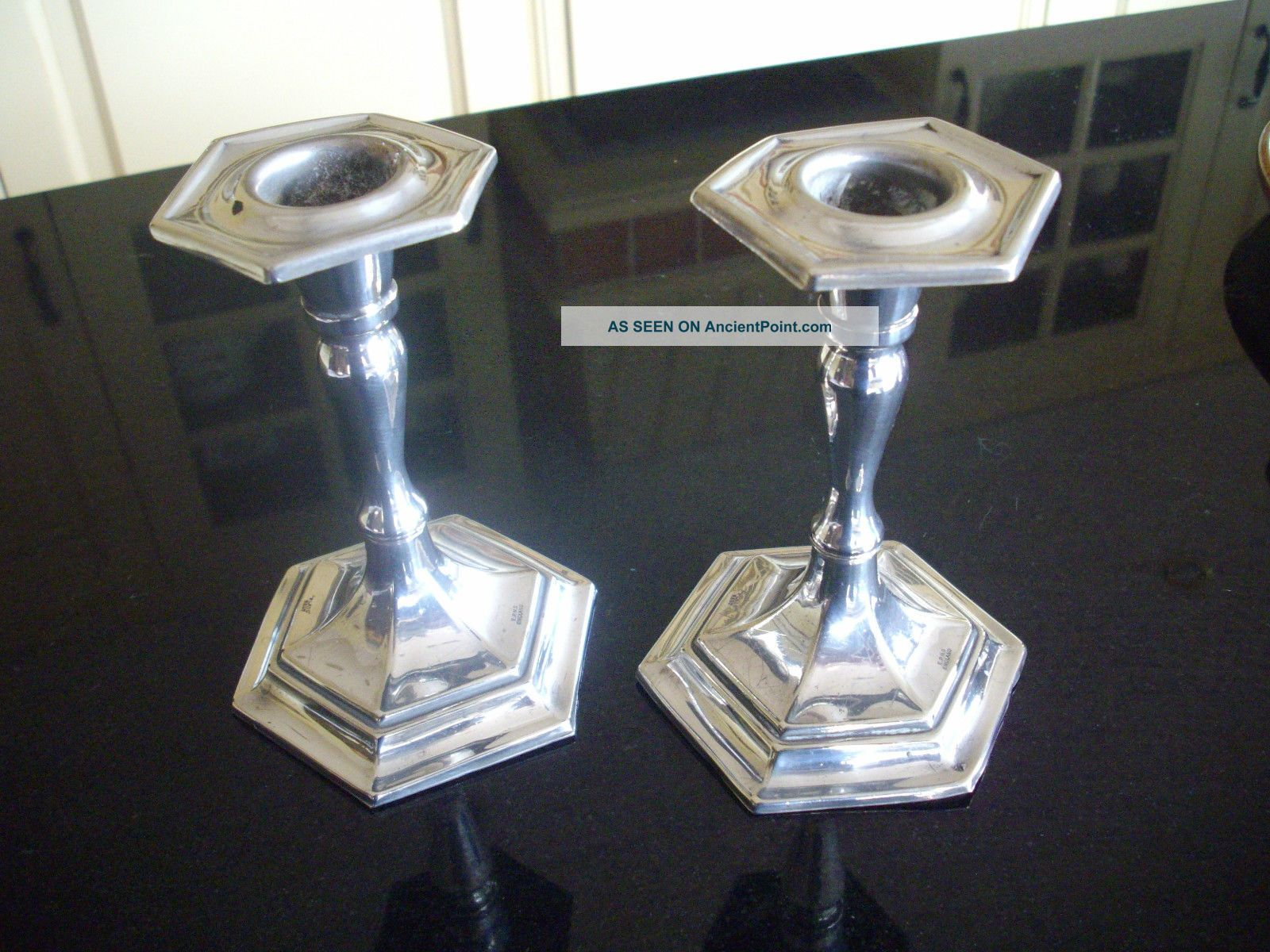 Silver Plated Candle Sticks Candlesticks & Candelabra photo