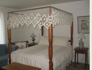 Antique Tester Bed photo