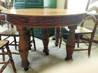 Antique Oak Table (44