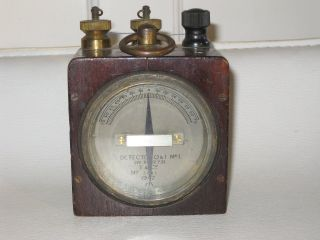 Ww2 Military Detector Galvanometer T&co Quantity And Intensity photo